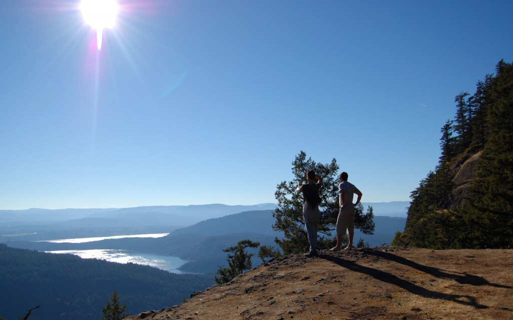 View from Mount Maxwell on Salt Spring Island. Photo: SYinc