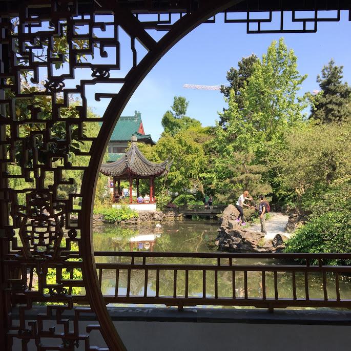 Sun Yat-Sen garden in Chinatown Vancouver