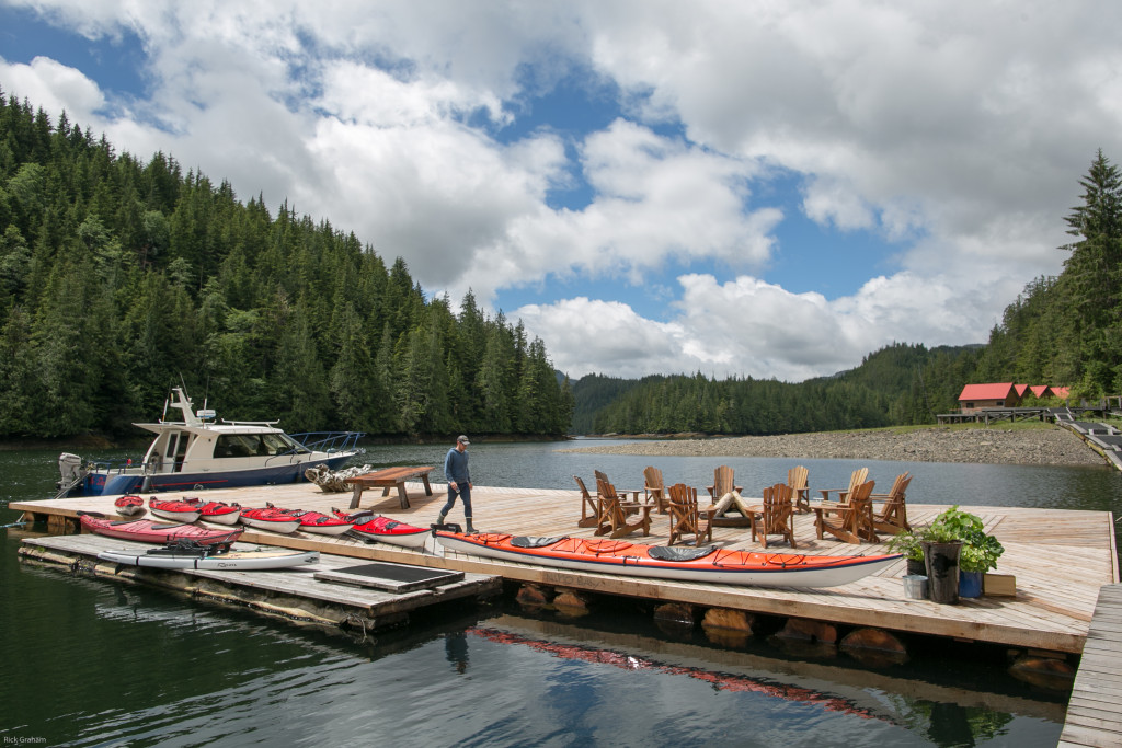 Fraser Murray at Nimmo Bay Resort on northern Vancouver Island. Photo: Rick Graham/Destination BC