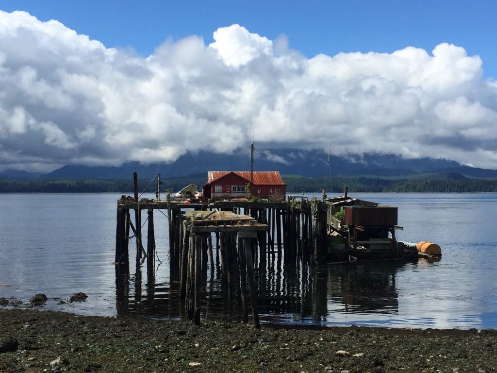 Alert Bay's waterfront. Photo: Josie Heisig