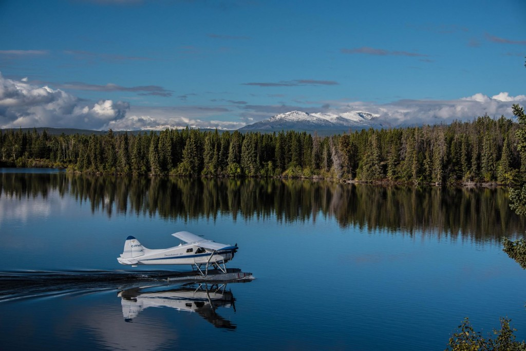 Tweedsmuir Air provides access to remote lakes and valleys of the Chilcotin region. Photo: Geoff Moore