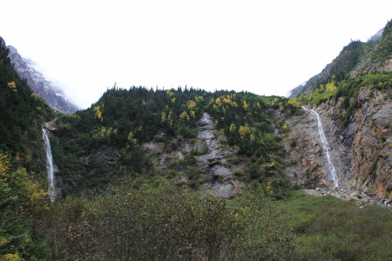 The waterfalls at Twin Falls Recreation Site, Smithers, BC