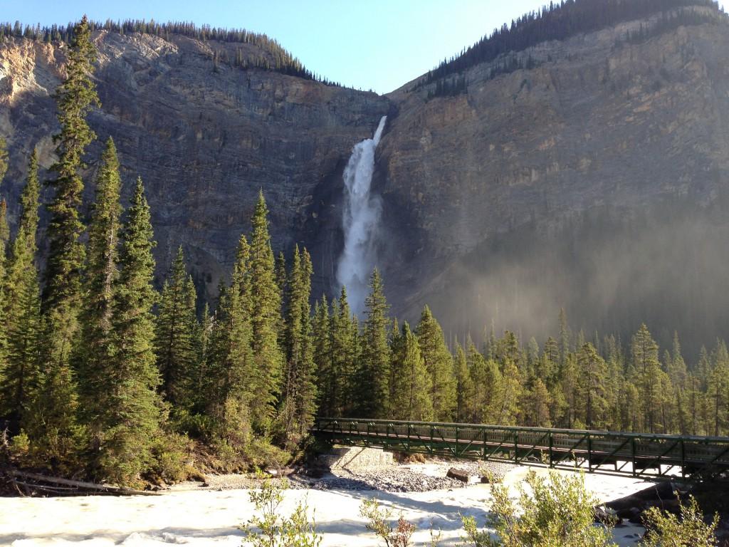 Takakkaw Falls in Yoho National Park, British Columbia