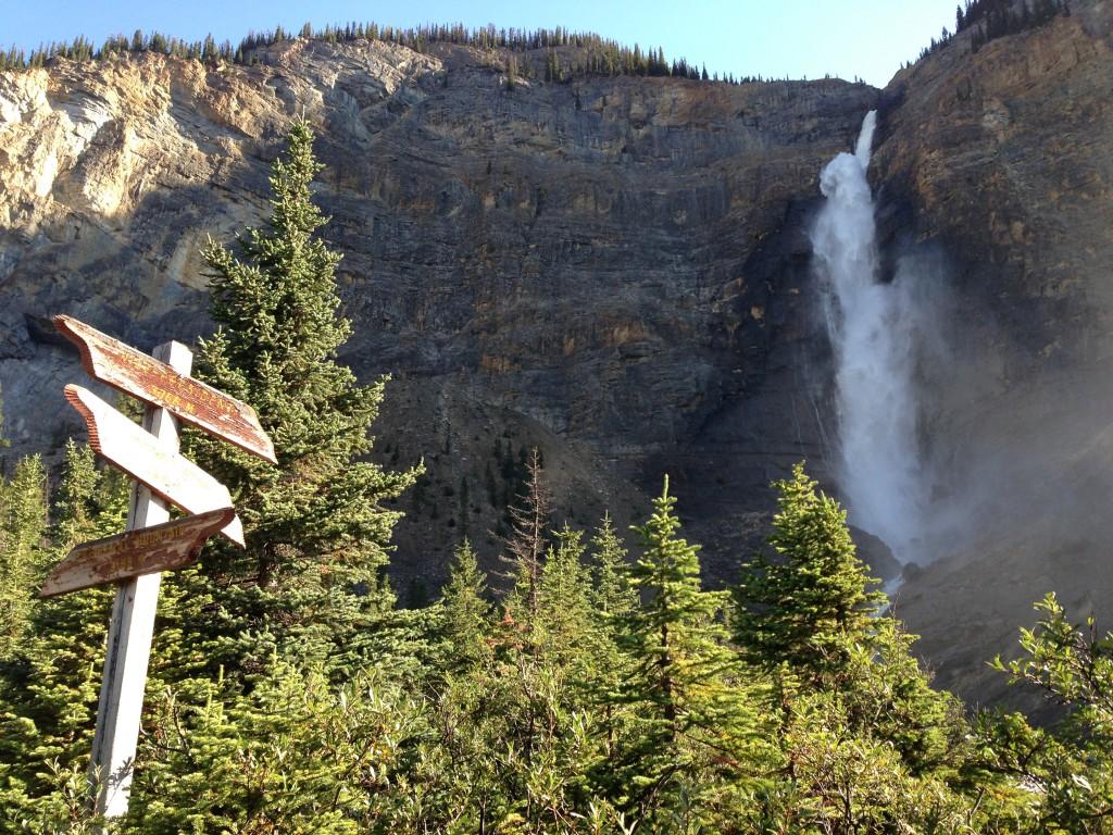 Takakkaw Falls in Yoho National Park, British Columbia.