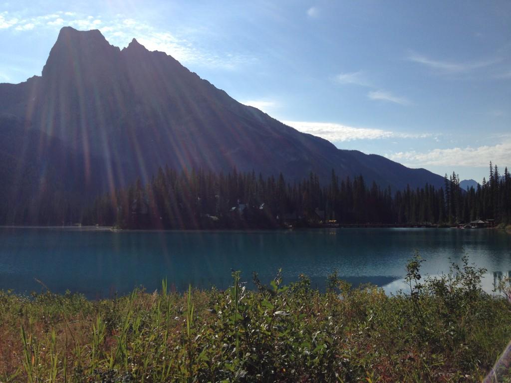 Emerald Lake in Yoho National Park, BC