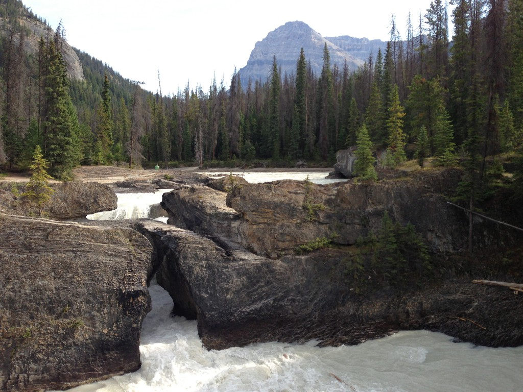 The Natural Bridge in Yoho National Park, BC