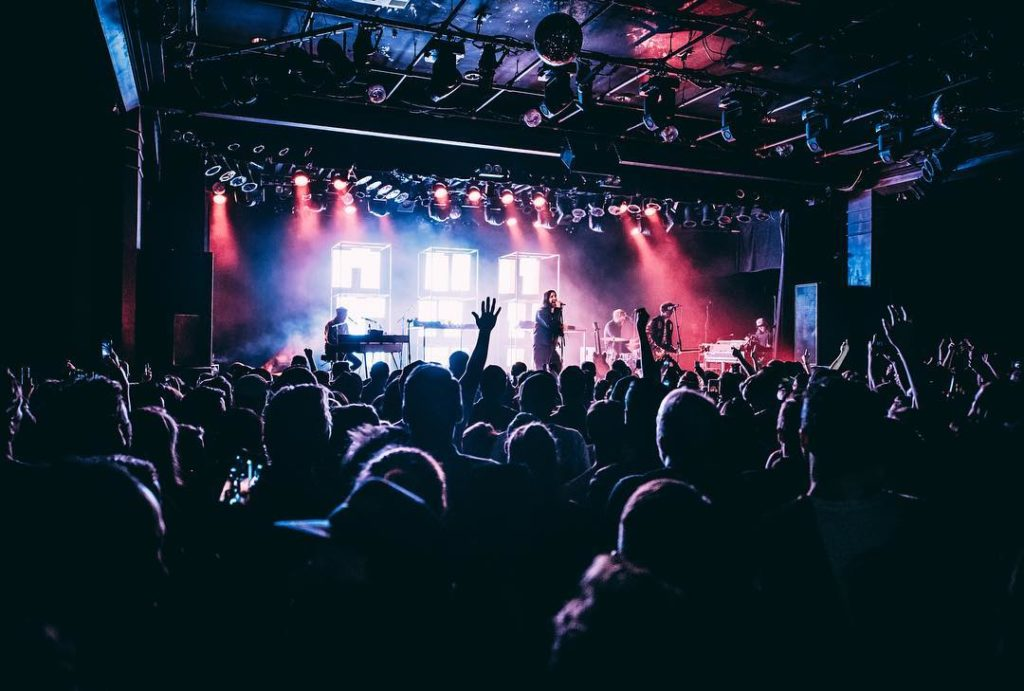 Music fans flock to Vancouver's Commodore Ballroom.