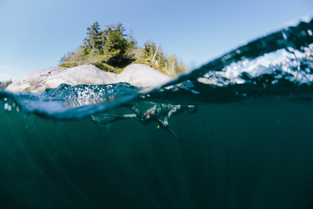 A surface interval during a dive in the Queen Charlotte Strait. Photo: @jeremykoreski