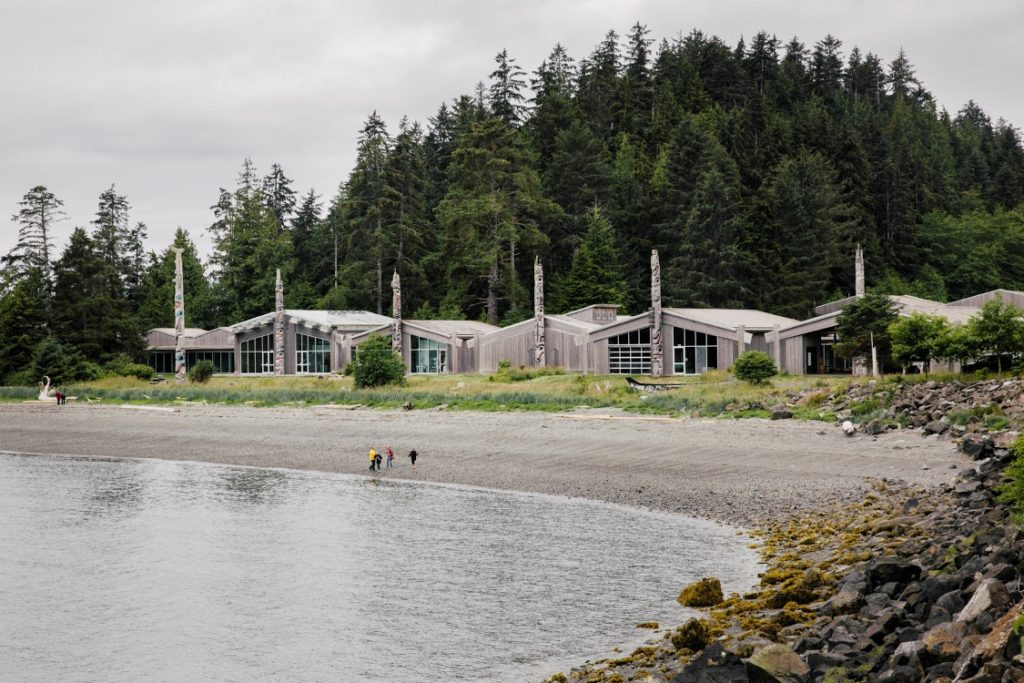 The Haida Heritage Centre in Northern BC.
