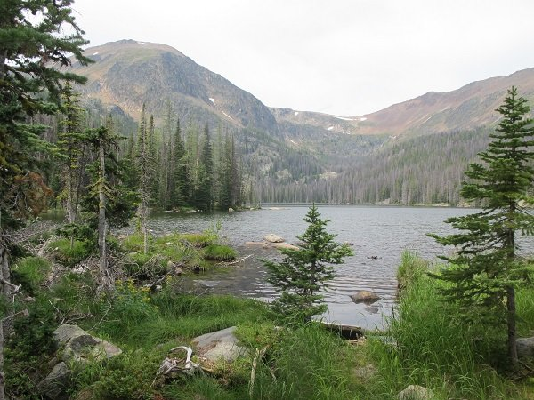 Remote mountain lakes great for fishing in Cathedral Mountain Park