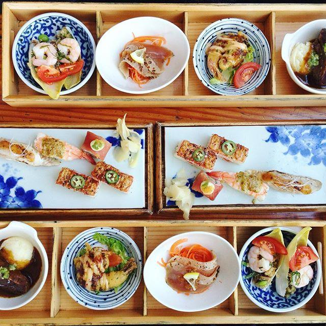 The offerings at Miku, in Vancouver.