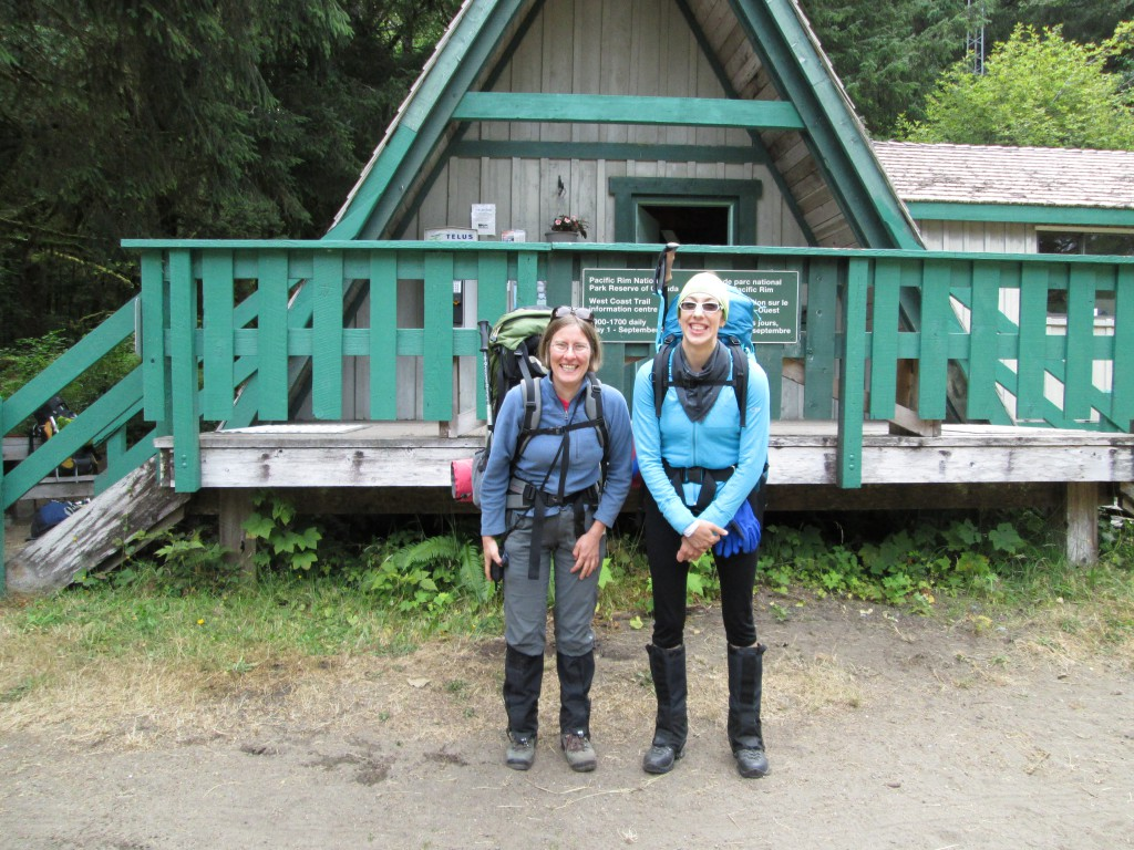 Hiking the West Coast Trail on Vancouver Island, BC