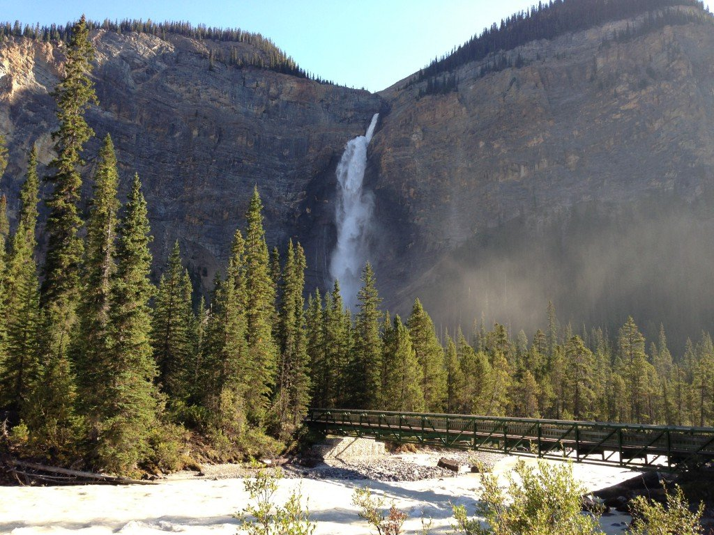 Takakkaw Falls in Yoho National Park.