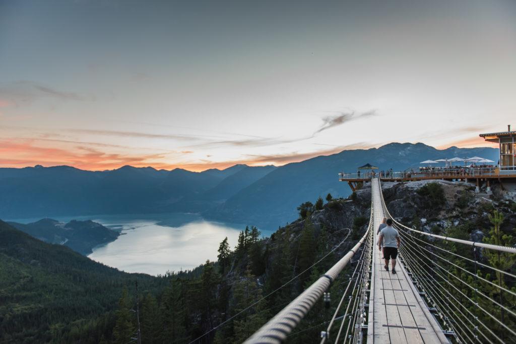 Sea To Sky Gondola in Squamish