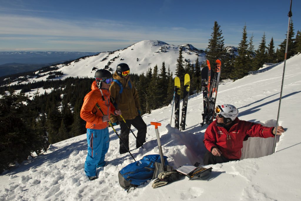 <em>Learn the skills you need for safe backcountry travel with the new All Mountain Skills Camp offered at Sun Peaks Resort.