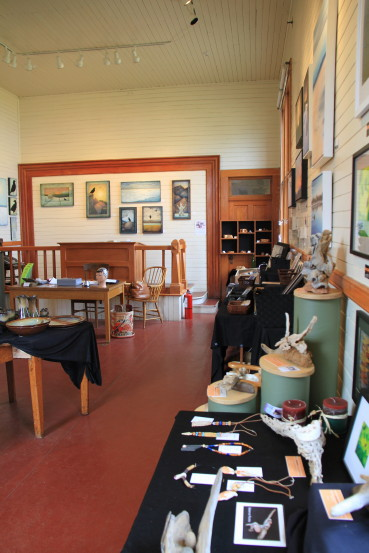 Art gallery in Atlin, BC