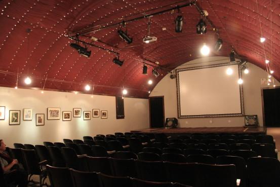 Historic Globe Theatre in Atlin, BC