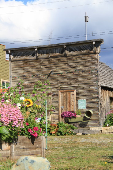 First first hall (1901) in Atlin, BC.