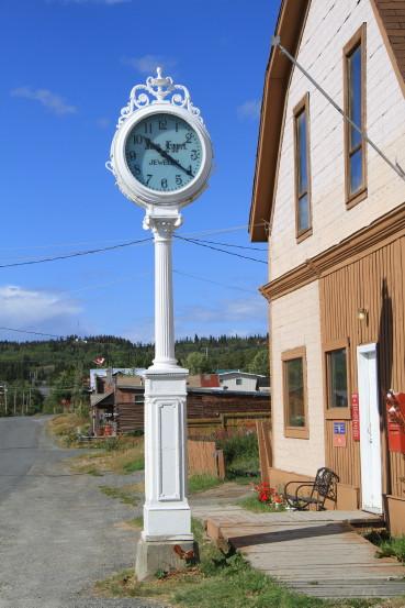 Eggert's clock, Atlin, BC