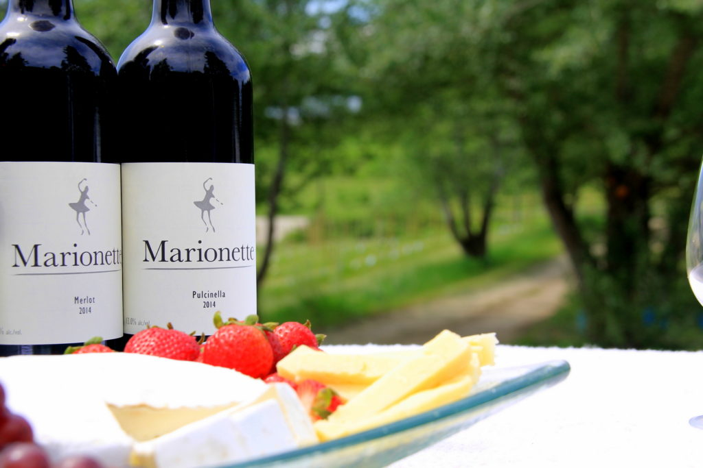 At Marrionette Winery, you can taste varietals not often found in the Shuswap.
