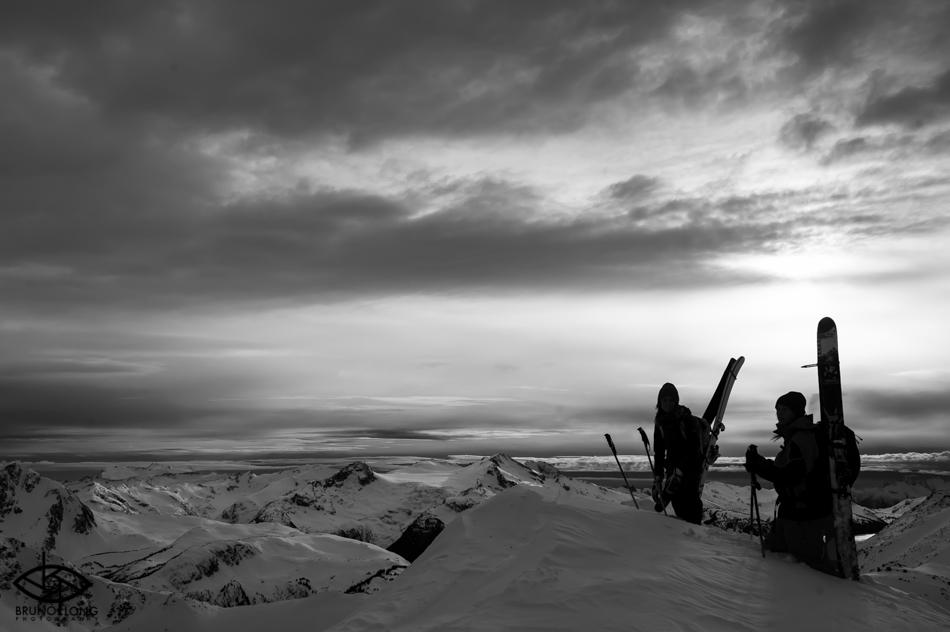 Skiing at Whistler Blackcomb. Photo: Bruno Long