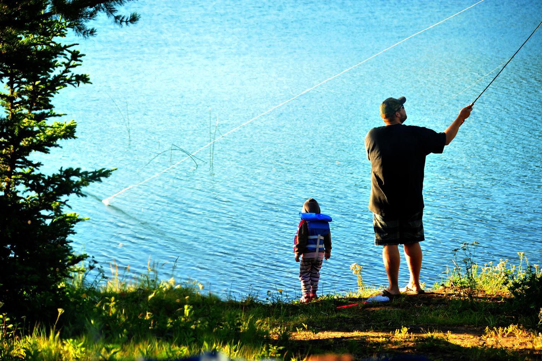 Sheridan Lake off Highway 24, BC.