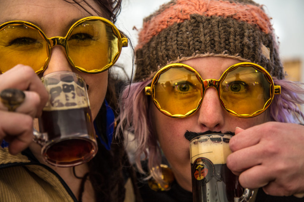 Beer Goggles Fest at RED Mountain Resort. Photo: RED Mountain/Ryan Flett