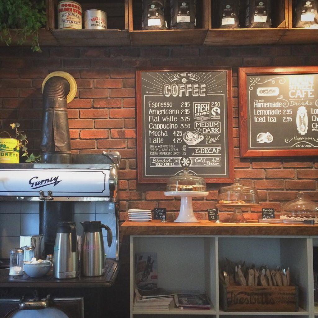 Main Street Cafe in Revelstoke