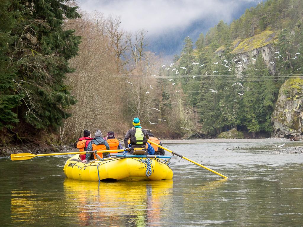 Sunwolf Raft in Squamish
