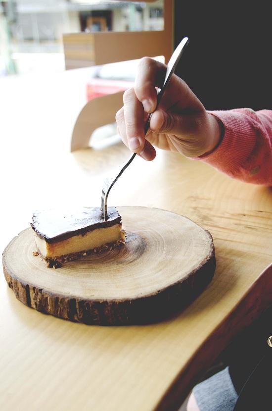 Gluten-free options along the Nanaimo Bar Trail. Photo: Sean Helmn