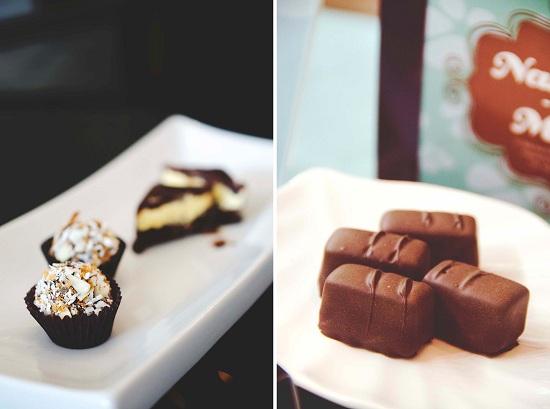 Nanaimo Bar-inspired chocolates. Photo: Sean Helmn