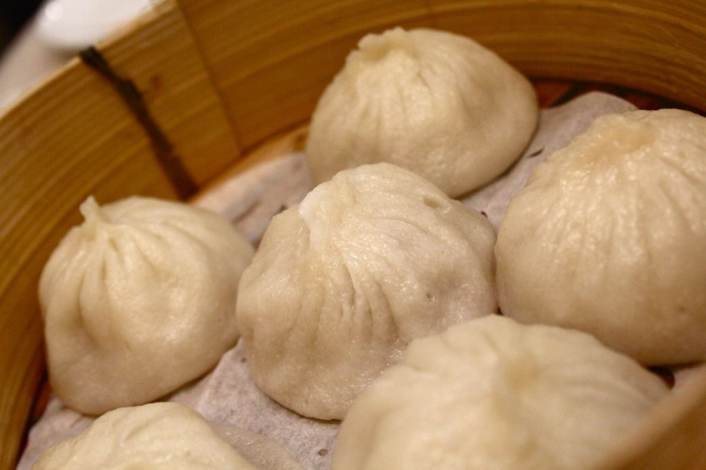 Xiao long bao soup dumplings, Richmond, BC.