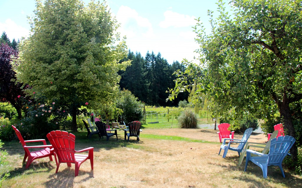 Rocky Creek Winery Picnic area