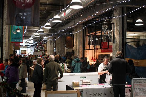 The Victoria Public Market in Victoria, BC