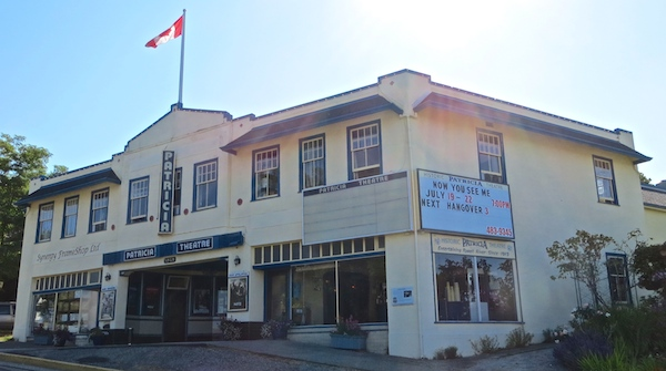 The Patricia Theatre is Canada's longest continually operating cinema.