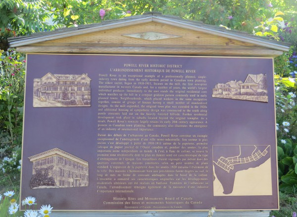 Powell River's Townsite neighbourhood is rich with history.