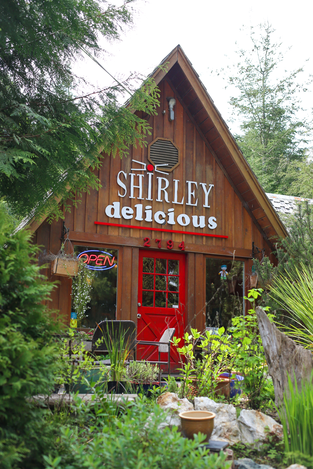 Shirley Delicious Cafe, Vancouver Island