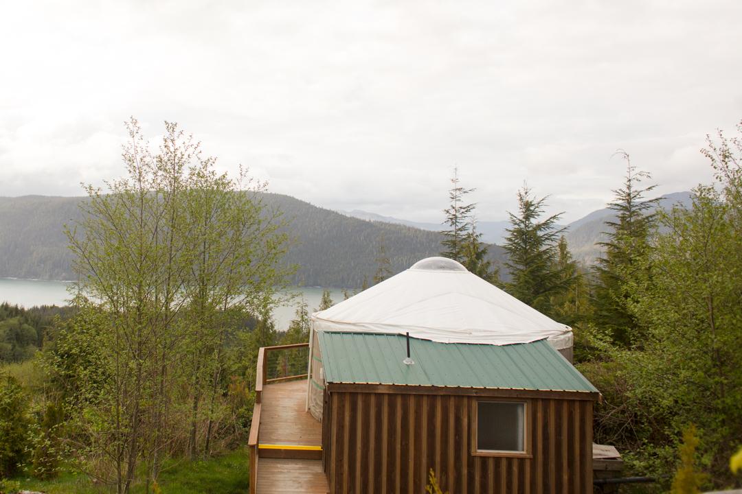 Yurt at Soule Creek Lodge, Port Renfrew, Vancouver Island