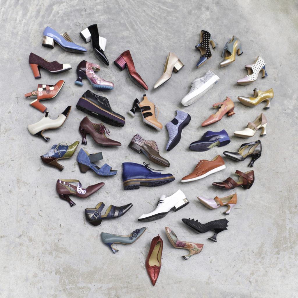 Vancouver's John Fluevog shoe designs.