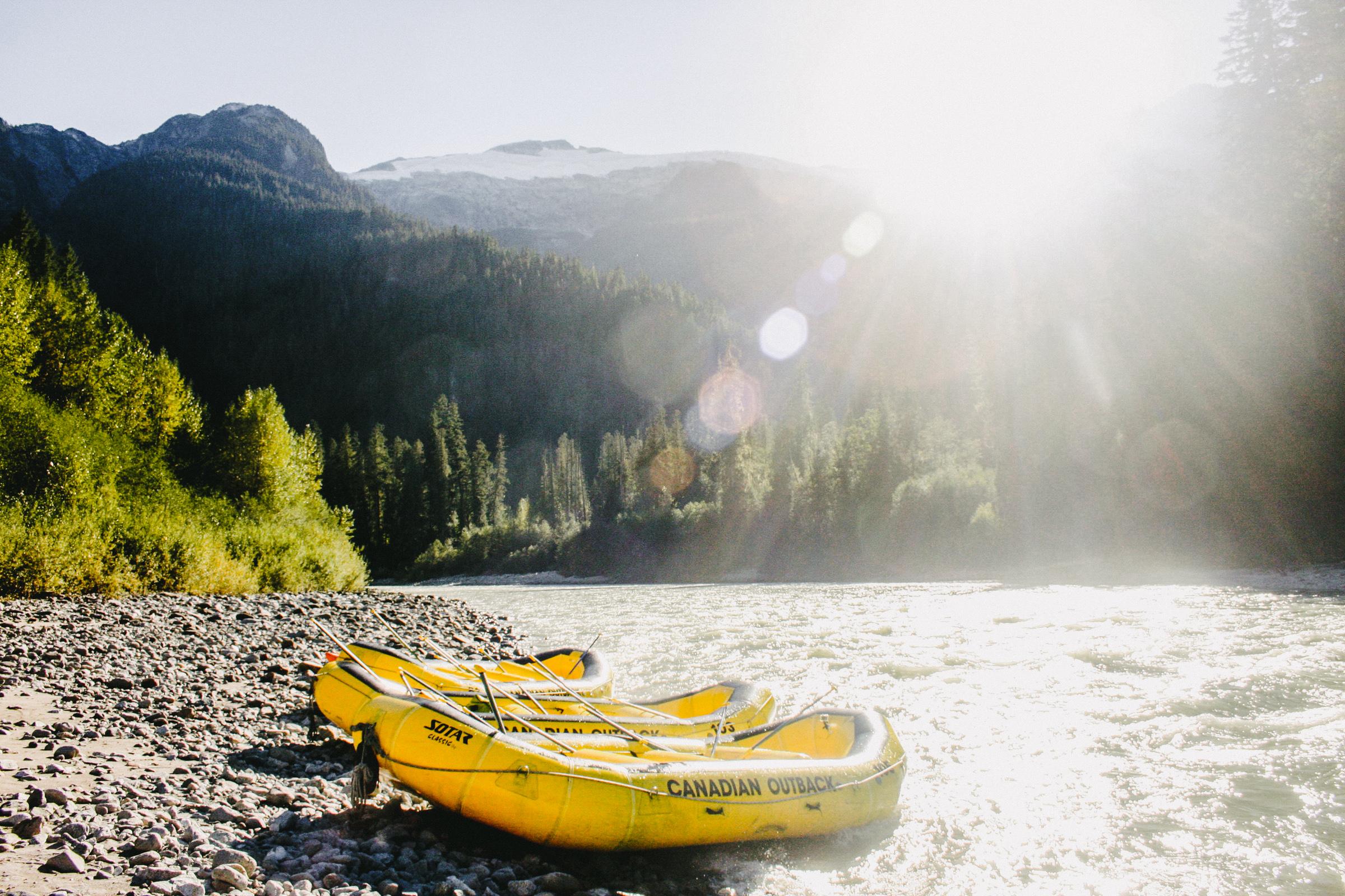 Elaho rafting, Squamish BC