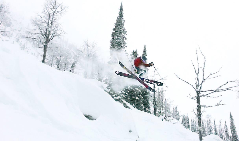 Powder day at Whitewater Ski Resort in Nelson. Photo: Gina Bégin