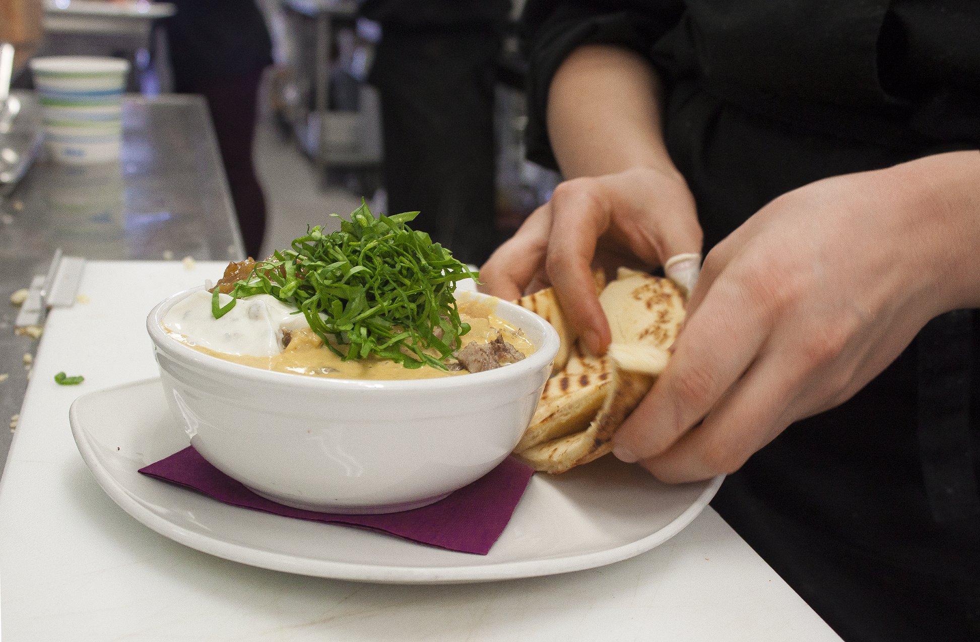 Award-winning food from Whitewater Ski Resort's kitchen staff in Nelson. Photo: Gina Bégin