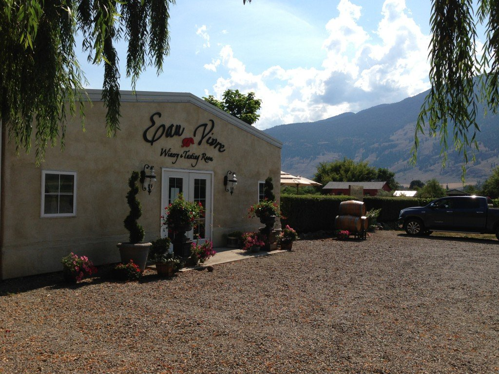 Eau Vivre Winery in Cawston, BC