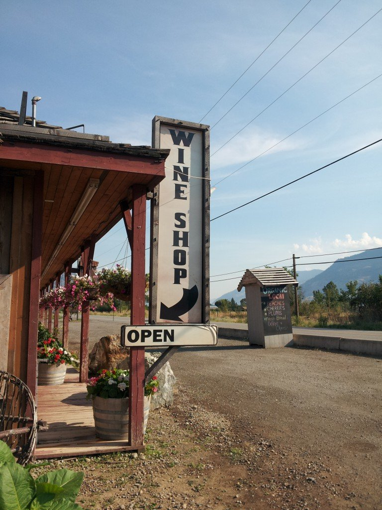 Rustic Roots Winery in Cawston, BC