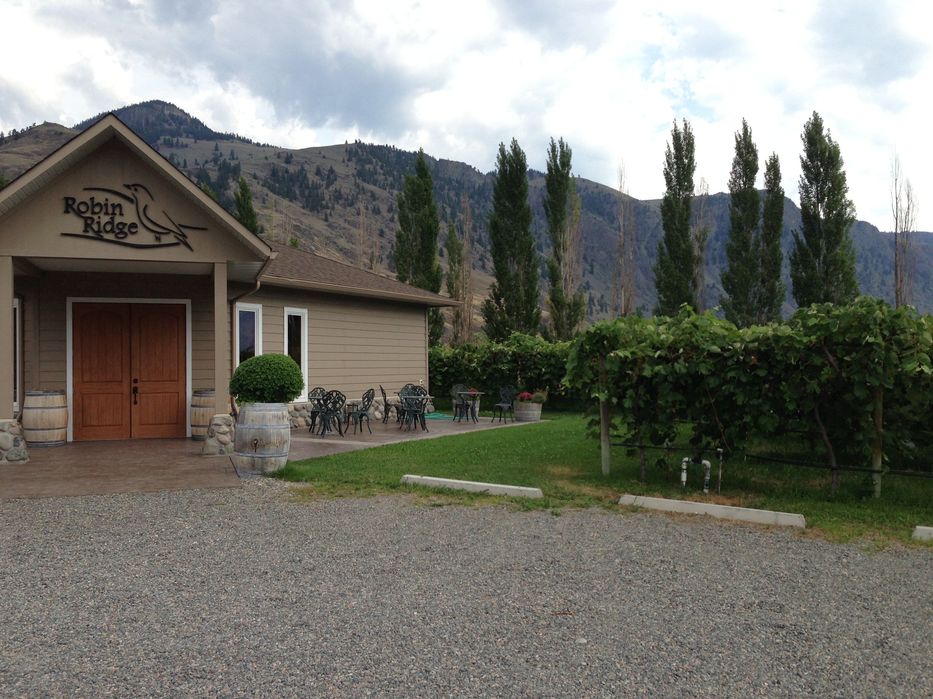 Robin's Ridge Winery, Keremeos, BC