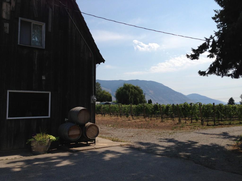 Clos de Soleil Winery in Cawston, BC