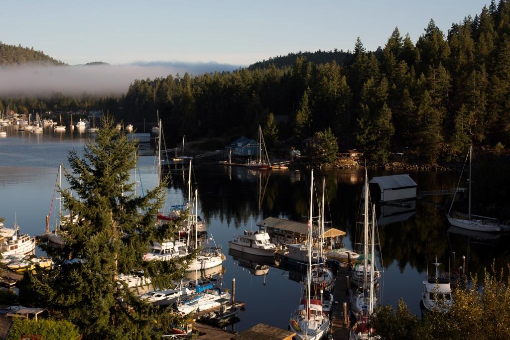 Pender Harbour Marina, BC