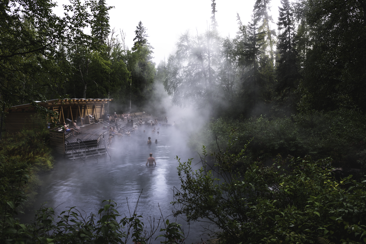 Liard River Hot Springs | Andrew Strain