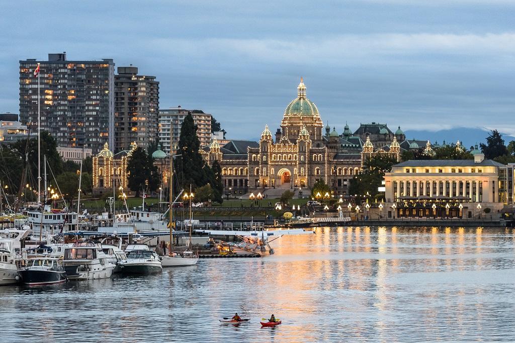 Victoria's Inner Harbour, Vancouver Island
