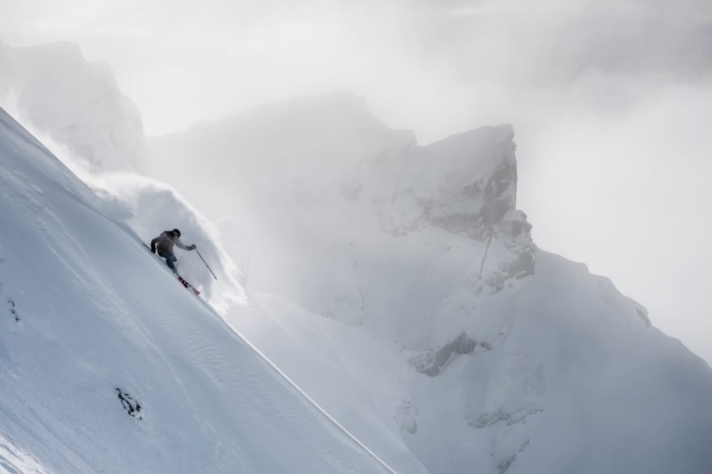 Whistler Blackcomb's backcountry.